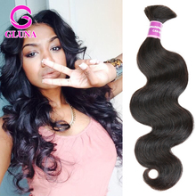 Mixed Length Peruvian Body Wave Wavy Bulk Hair for braiding Bundles 4pcs Lot human hair no weft can be dyed brown fast