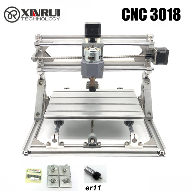 CNC3018 ER11 GRBL control Diy CNC machine,3 Axis pcb Milling machine,Wood Router laser engraving,best toys Бороскопы