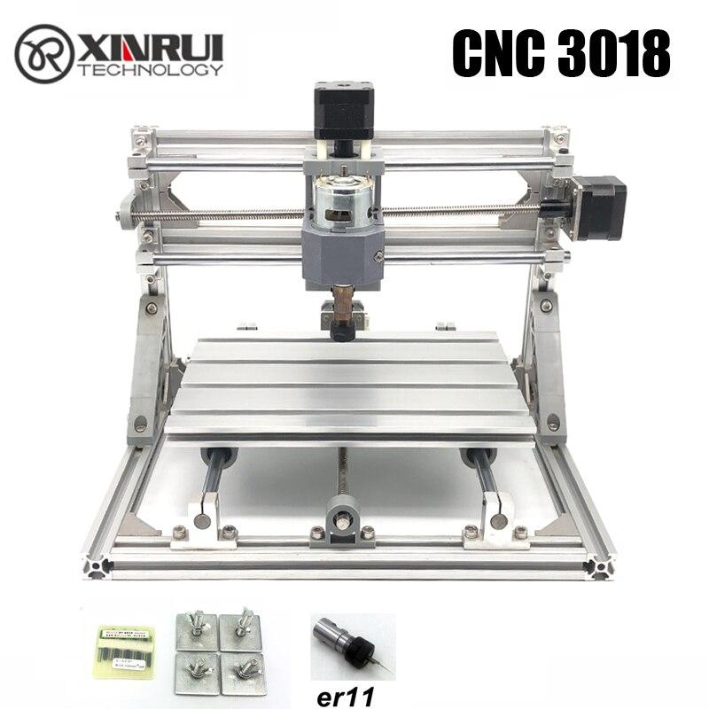 Controle CNC 3018 ER11 GRBL Diy CNC machine, 3 Eixo pcb Milling machine, Router De Madeira máquina de gravação a laser, melhores brinquedos