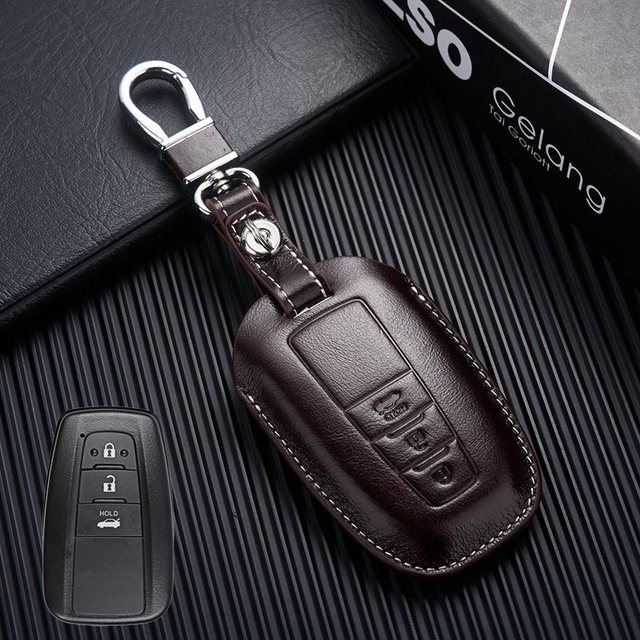 Sticker For Range Rover Sport Transparent Promotion Tpu: Leather Key Fob Cover Holder For 2018 Toyota Camry Land