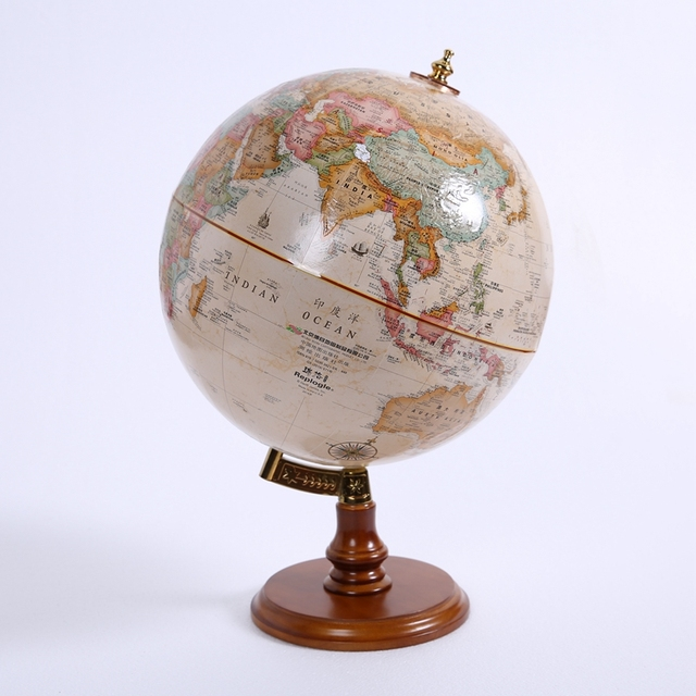 continental retro creative globe ornaments home furnishing ornaments
