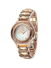 Ladies Stainless Steel Large Crystal Watch tt Watches Table Bling Day Date Brand Wristwatch Girls uk Famous Rose Gold HL591PA