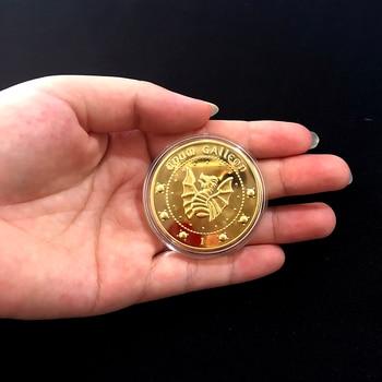 Harri Potter Hogwarts Gringotts Bank Prop Gold Coin