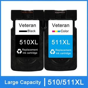 Image 1 - Veterano PG510 CL511 Cartuccia per Canon PG 510 CL 511 Cartucce di Inchiostro Per Pixma MP250 IP2700 MP480 MP490 MP230 MP280 stampante