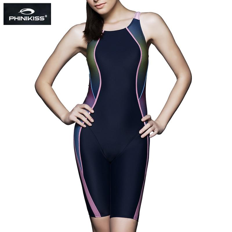 Bathers Racing Swimsuit Sports Plus Size Swimwear Female ...