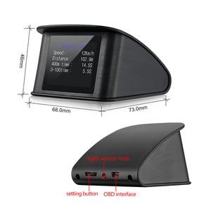 Image 3 - GEYIREN P10 รถยนต์On Boardคอมพิวเตอร์ดิจิตอลOBDขับรถคอมพิวเตอร์จอแสดงผลSpeedometer Coolantอุณหภูมิ 2018