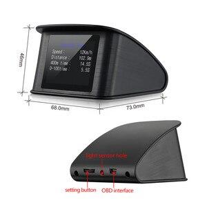 Image 3 - Geyiren P10 自動車ボードコンピュータ車デジタルobd駆動コンピュータディスプレイスピードメーター水温ゲージ 2018