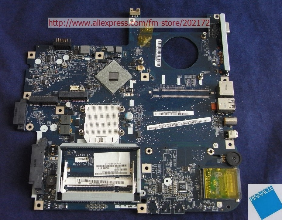 MBAJ702003 Motherboard For  Acer Aspire 7220 7520 7520G ICY70 L21 LA-3581P