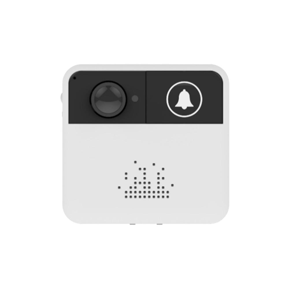 Smart Wireless WiFi Video Doorbell Battery Powered House Intercom 720P HD Door Bell Camera with IR Night Vision Two way Audio