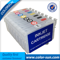 New 8 pcs T1590 T1599 Refillable Ink Cartridge For Epson Stylus Photo R2000 Printer With ARC Chips