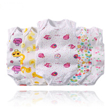 5 pcs/lot Newborn Baby Clothes Infant Girls Cotton