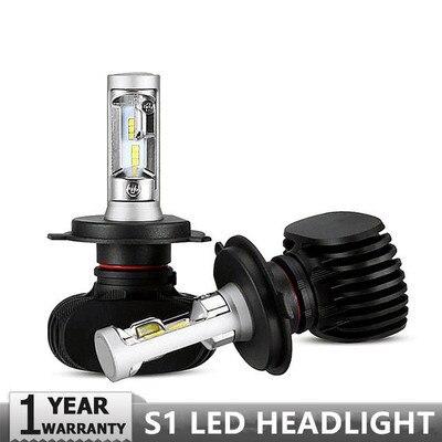 2 stücke H4 LED H7 H11 H8 9006 HB4 H1 H3 HB3 H9 H27 Auto Scheinwerfer Lampen LED Lampe mit philips Chip 8000LM Auto Nebel Lichter 6500 karat 12 v