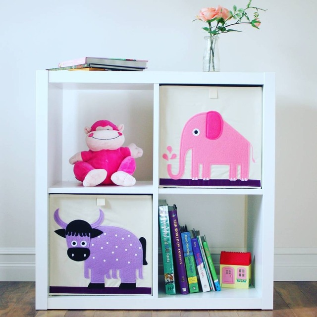 Folding Kids Clothes Toy Storage Organizer