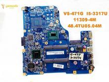 Оригинальный Для ACER V5-471G Материнская плата ноутбука V5-471G I5-3317U 11309-и формирующая листы для кровли 4 м 48.4TU05.04M испытанное хорошее Бесплатная дос...