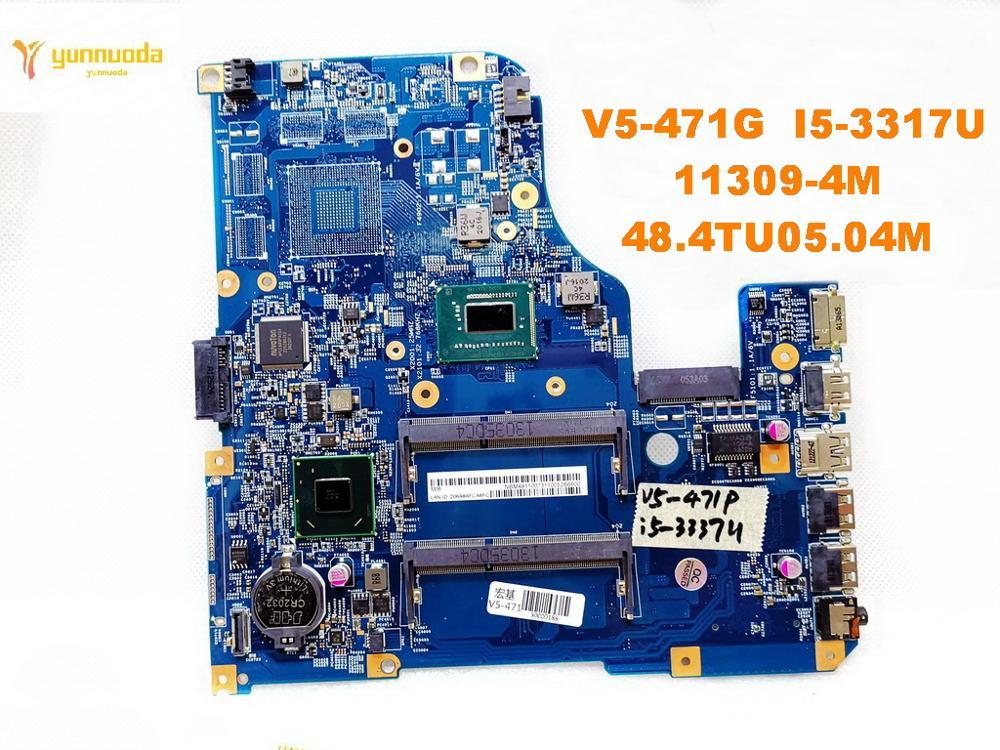 Original for font b ACER b font V5 471G laptop motherboard V5 471G I5 3317U 11309