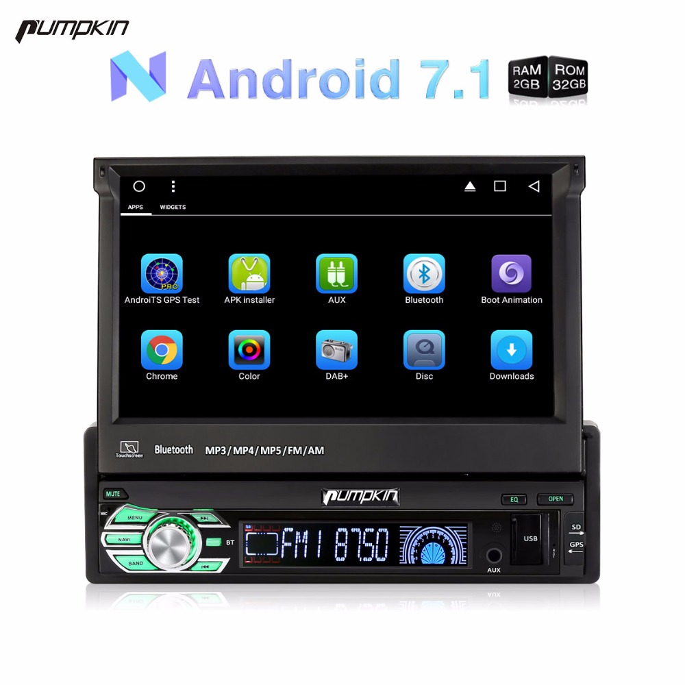 Wholesale 1 Din 7 Android 7 1 Car font b Radio b font No DVD Player