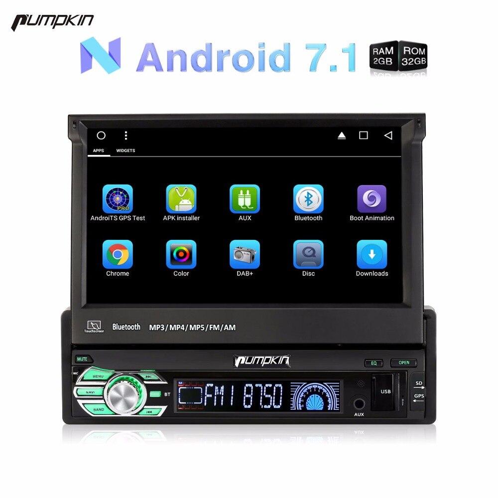Wholesale 1 Din 7 Android 7 1 font b Car b font DVD Player GPS Navigation