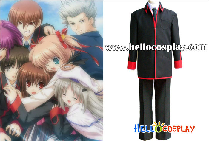 Japanese Anime Outfit Little Busters Cosplay School Boy Uniform H008
