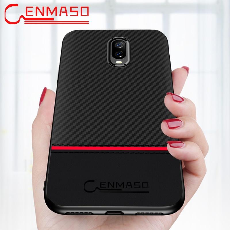 Original Case For Oneplus 6t Case One Plus 6t Mclaren: Oneplus 6T Case CENMASO Original Oneplus 6 6T 5 5T Carbon