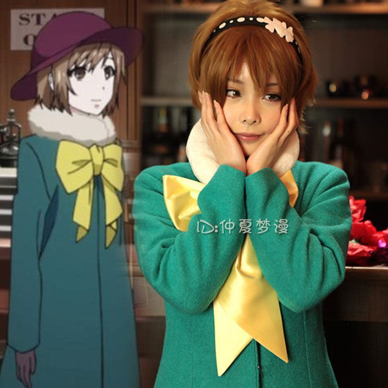 Tokyo Ghoul Fueguchi Hinami cosplay costume Daily casual wear Uniforms coat+tie+headwear