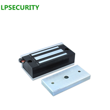 LPSECURITY Electronic Door Lock Mini Magnetic Locks 60KG DC 12VDC 24VDC 100LBS EM Lock Access Control Electromagnetic Lock