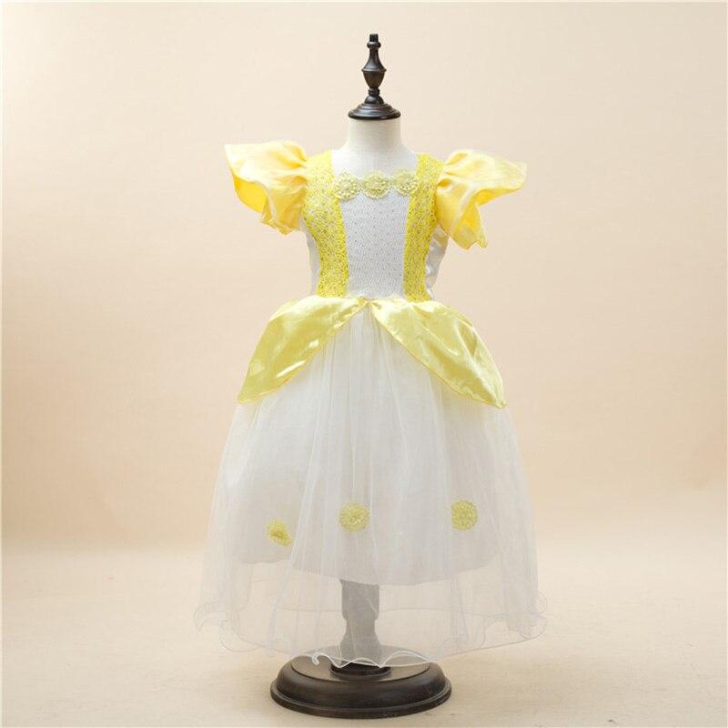 Привет Блум новое 2017 подарок на Хэллоуин дети детская одежда немного фантазии дети Обувь для девочек желтый Платья для женщин принцессы Рож...
