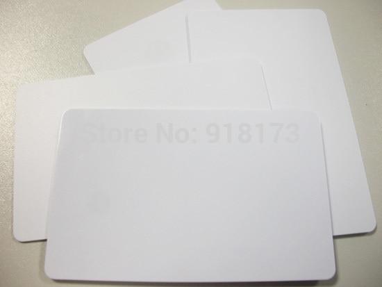 200pcs/lot 125khz Inkjet Printable PVC ID card EM4100/TK4100 200pcs lot premium blank white pvc inkjet printable card no chip double side printing for all inkjet printers