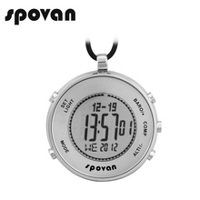 SPOVAN Watch for Sports, Military. Digital Watches, Pocket Watch Waterproof, Altimeter/Compass/Thermometer/Dual time. Elementum1