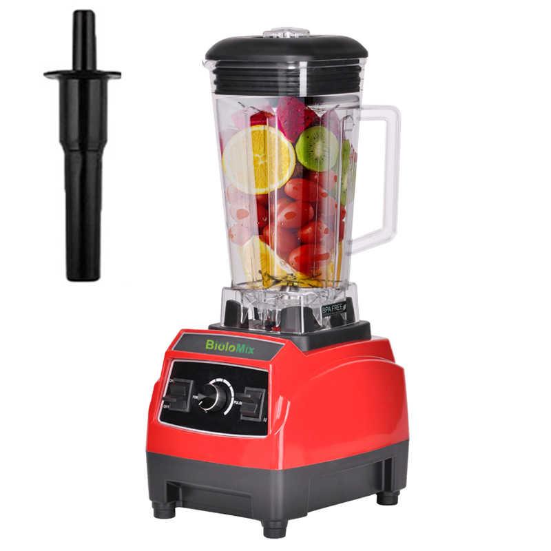 3HP 2200 w BPA Livre 2L Poder Pesados da Classe Comercial Misturador Liquidificador Espremedor De Alta Potência Cozinha Processador de Gelo máquina do Smoothie frutas