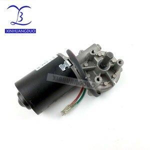 Image 4 - 30rpm 50rpm 100rpm GW6280 DC 24v high torque worm gear reducer motor Min Worm Gear Motor wiper barbecue grill motor turn right