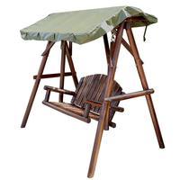 Giardino Salon Exterieur Rocking Mobilya Outdoor Furniture Mueble De Jardin Wood Shabby Chic Hanging Chair Retro Garden Swing