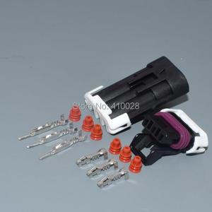 Image 5 - Shhworldsea 3pin 1.5mm otomatik elektrik kablosu fişi Hız krank mili Mühürlü 150 Üç Yollu Konnektörler 12129615 12110293