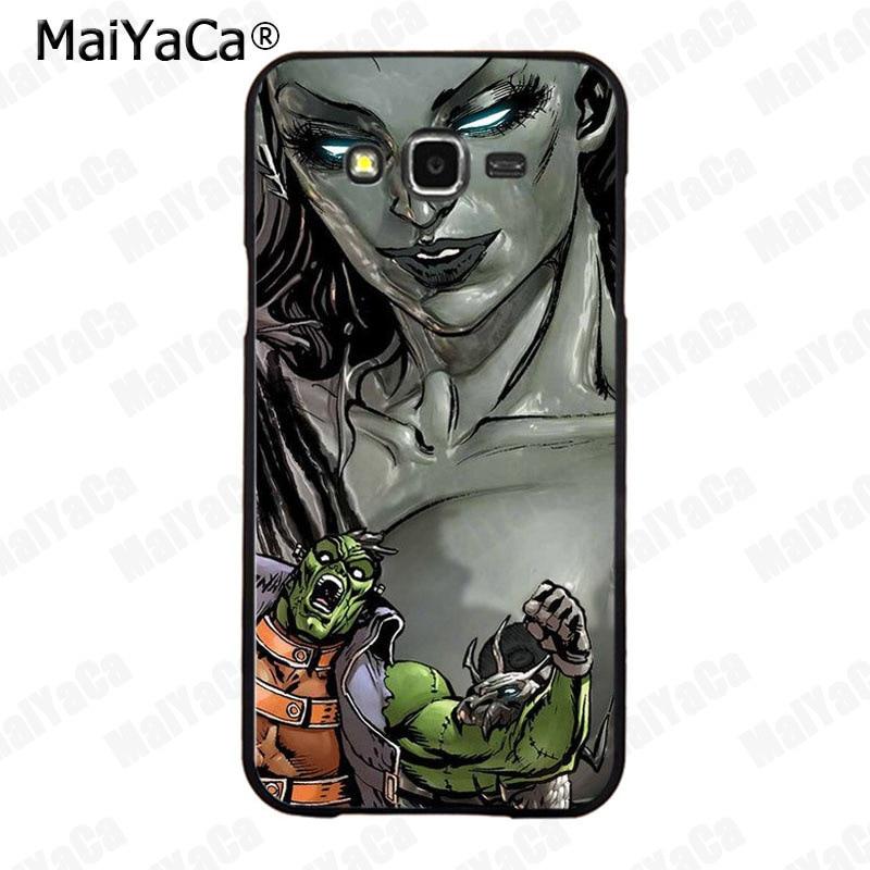 MaiYaCa Justice League Dark High Quality Classic Phone Accessories Case for Samsung 2015 J1 J5 J7 2016 J1 J3 J5 J7 Note3 4 5