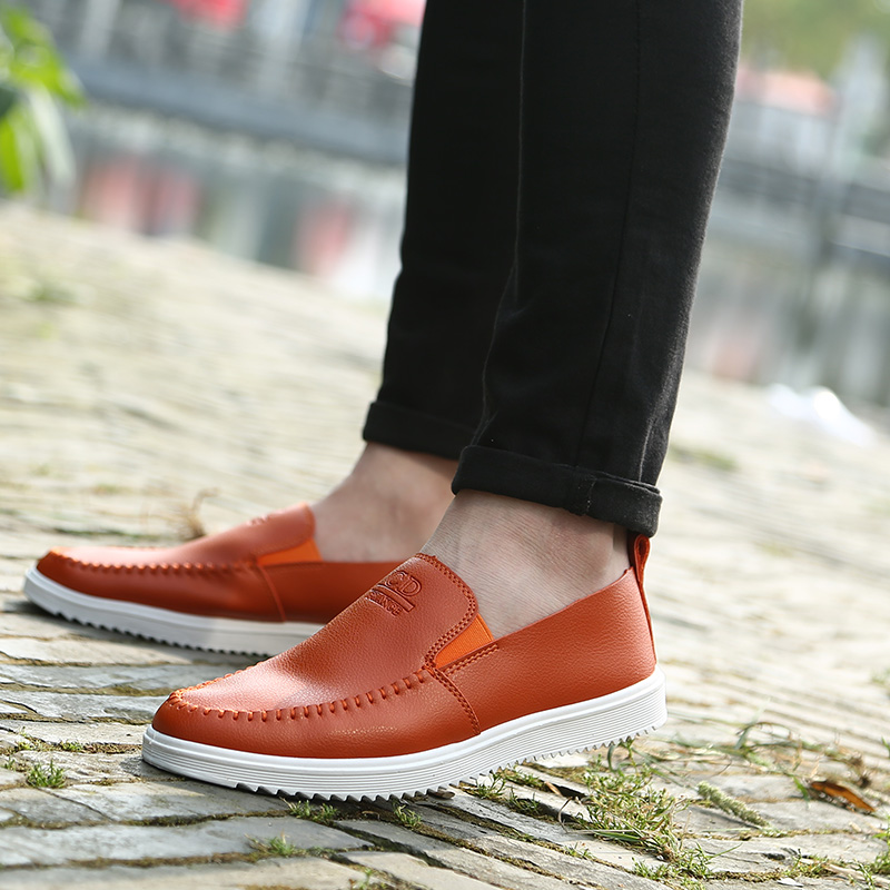 2017 Loafers for Men Boat Shoes Breathable Slip On Flats Casual Summer Men's Loafers Pea Driving Shoes zapatos hombre 43 44 45 fashion nature leather men casual shoes light breathable flats shoes slip on walking driving loafers zapatos hombre