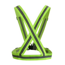 Safety Clothing Chaleco Reflectante 360 Degrees High Visibility Neon Belt Running Cycling Sports Outdoor Clothes Reflective Vest