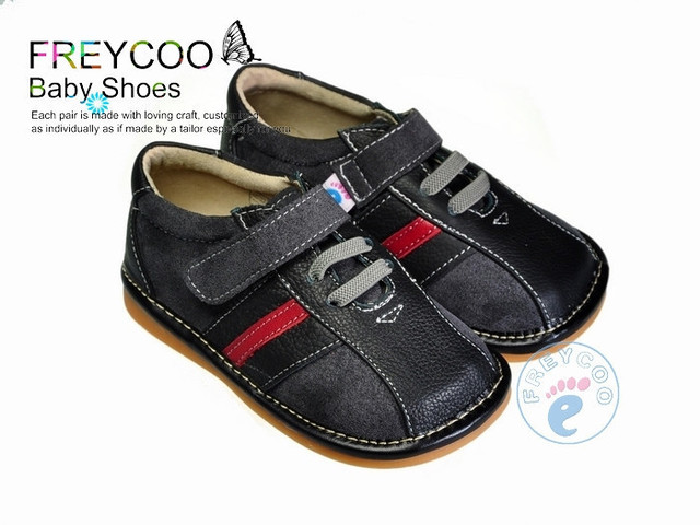 Freycoo spring and autumn single shoes indoor toddler shoes baby shoes slip-resistant
