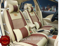 Styling Luxury Leather Car Seat Covers Cushion Front Rear Complete Set For Dodge All Series Challenger