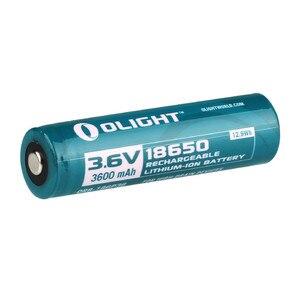 Image 3 - Olight ORB 186P36 3600mAh 18650 chroniony akumulator litowo jonowy