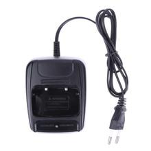 EU Plug Li-ion Desktop batterijlader 100-240V voor Retevis H777 H-777 Baofeng BF-666S BF-777S BF-888S Walkie Talkielader