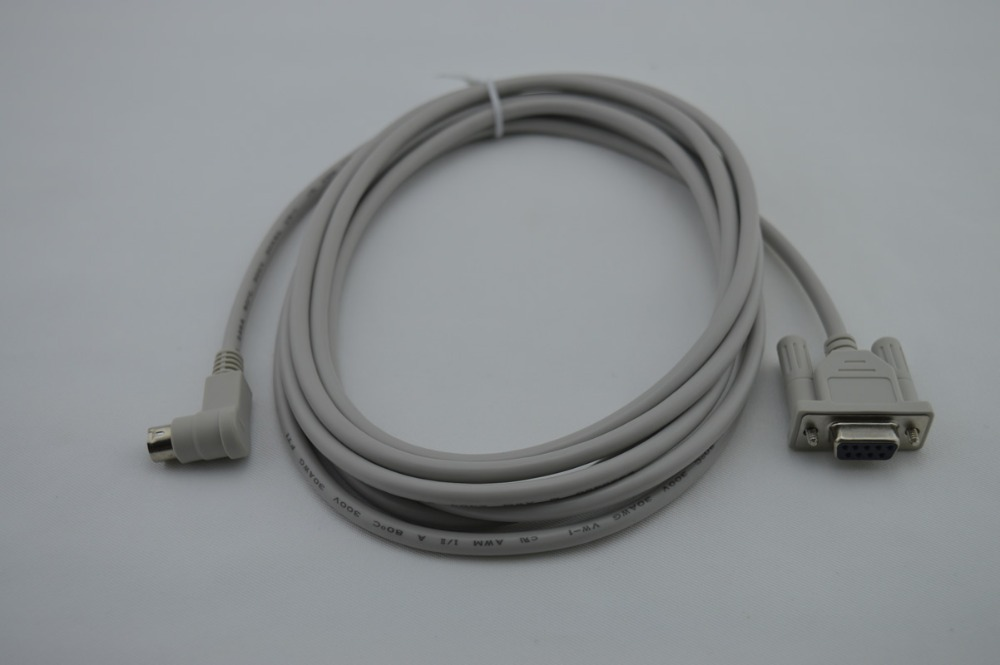 1761-CBL-PM02 for ALLEN BRADLEY MicroLogix 1000 SERIES PLC Programming Cable,90 DGREE, FAST SHIPPING usb 2711 nc13 plc programming cable for allen bradley a b panelview hmi usb 2711 nc13 fast shipping