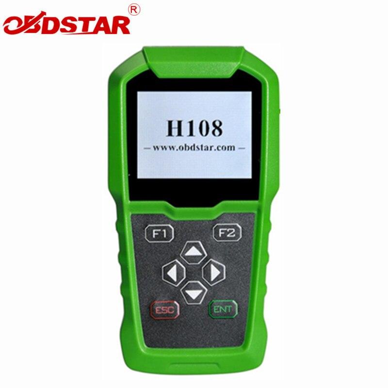 Programmeur OBDSTAR H108 PSA toute la programmation perdue par clé/lecture de Code Pin/calibrage de Cluster pour Peugeot/citroën/DS avec Can & k-line