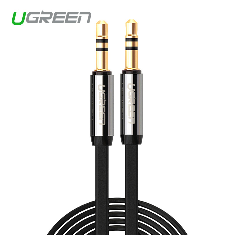 Ugreen High quality Jack 3.5 Car AUX Cable Male to Male 3.5mm Audio Cable 1M 2M 3M 5M for iPhone Tablet Headphone Amplifer цена и фото