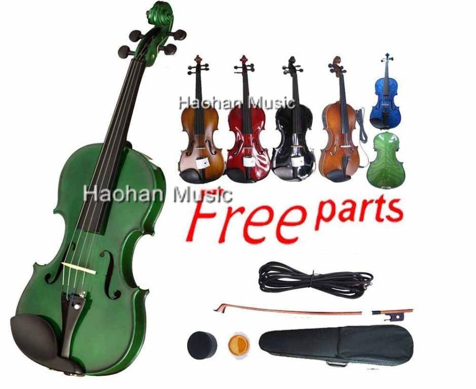 Most Popular Electric Acoustic Violin Maple Spruce -1 5 string electric acoustic violin 4 4 full size maple spruce wood advance