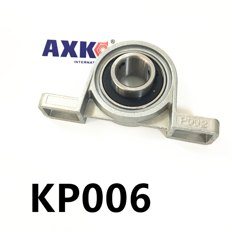 Free shipping 2pcs UP006 pillow block ball bearing 30mm Zinc Alloy Miniature Bearings with sleeve 2pcs ufl002 pillow block ball bearing 15mm zinc alloy miniature bearings with sleeve