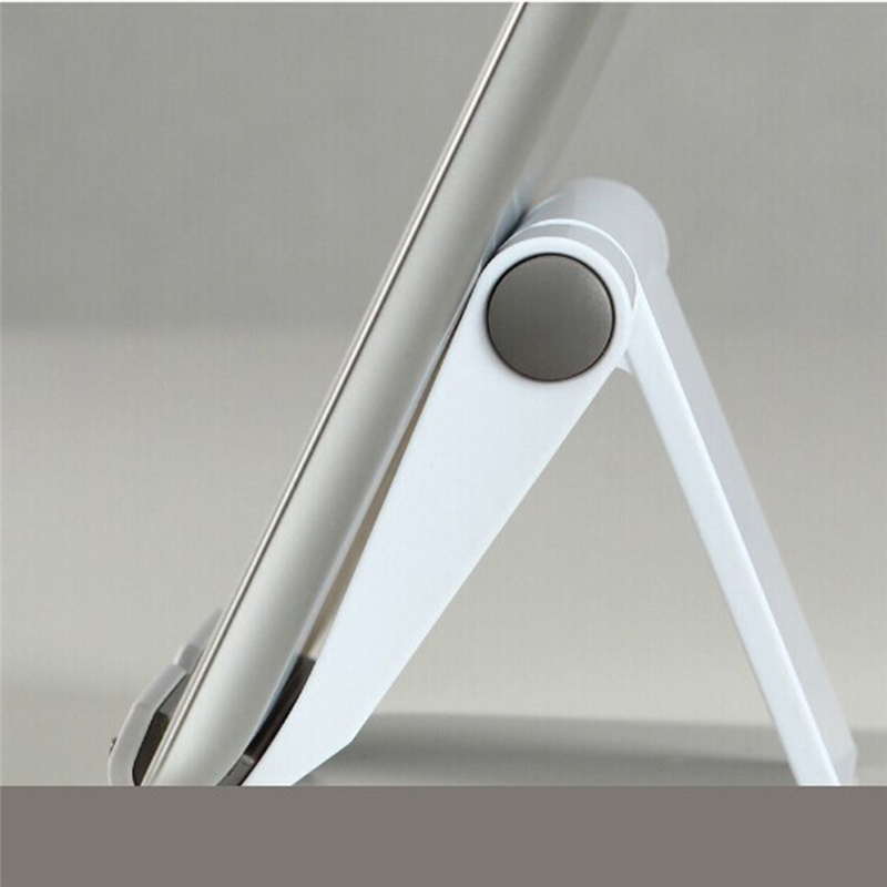 Image 5 - Portable Tablet PC Stand Foldable Phone holder Universal Adjustable Smartphone Tablet Holder for iphone5 6S 7 8 Samsung S7 J35-in Phone Holders & Stands from Cellphones & Telecommunications
