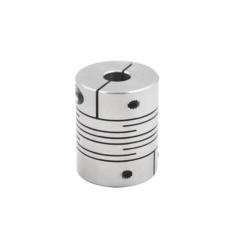 ball screw coupler 304 stainless steel parallel lines clamp D25mm L30mm flexible clamping coupling stepper motorball screw coupler 304 stainless steel parallel lines clamp D25mm L30mm flexible clamping coupling stepper motor