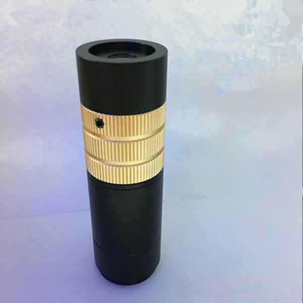 ML15 grand Zoom Ratio objectif 0.13-2X Tube unique vidéo longue Distance de travail Zoom objectif grand champ de Vision PCB Inspection