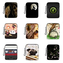 print custom logo 9.7 notebook bag waterproof laptop pouch 10.1 tablet protective sleeve Cover For case for ipad mini IP-hot9 стоимость