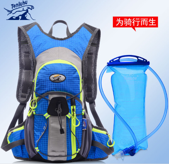 TANLUHU 643 12L Nylon Outdoor Climbing Bag Sports Running backpack Mountain Bike Backpack Unisex Cycling Bag For 2L Water Bag