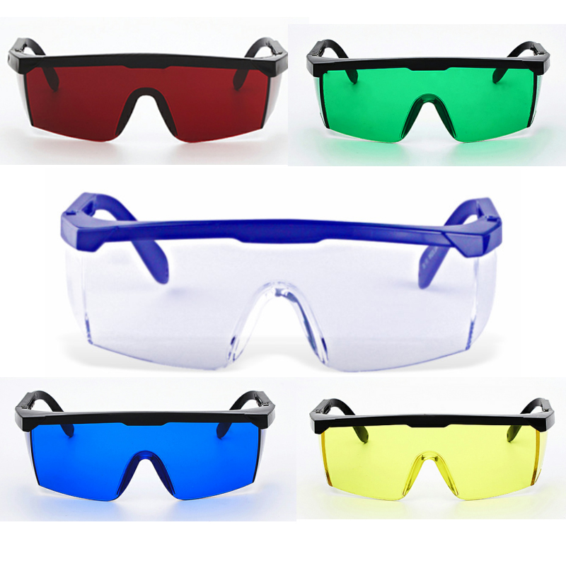 ZK40 Protective Goggles Safety Glasses Welding Glasses Green Blue Laser Protection Eye Wear Adjustable Work Lightproof Glasses